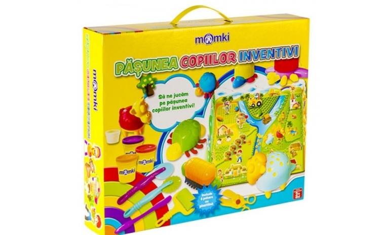 Plastilina cu forme - Pasunea copiilor