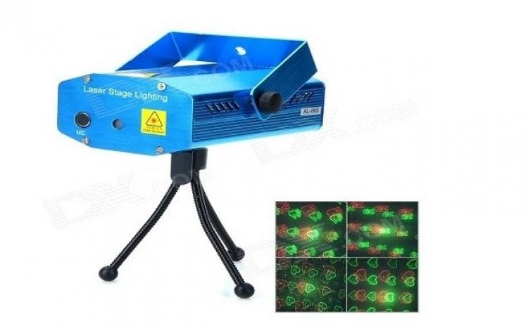 Mini laser proiector