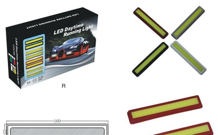 Proiectoare Lumini de Zi DRL banda