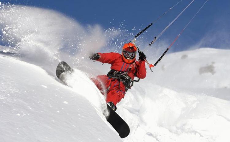 Modul initiere in SnowKiting
