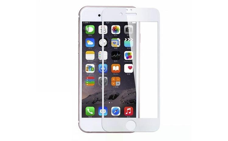 Folie iPhone 6, ecran complet, alb