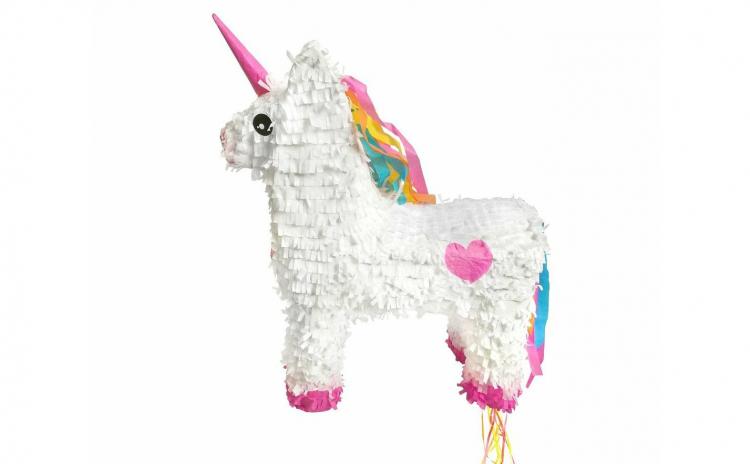 Pinata Unicorn alb 39 x 13 x 47 cm