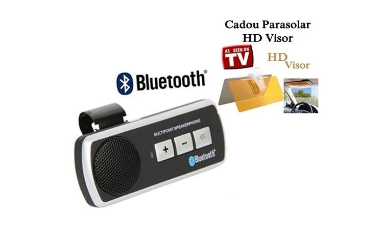Car kit Bluetooth+cadou Parasolar Visor
