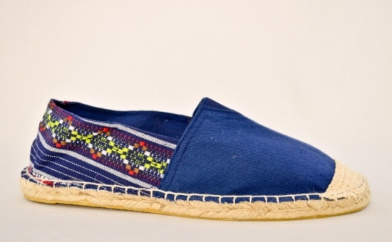 Espadrile Colors Vintage - Bleumarin, la 54 RON in loc de 150 RON