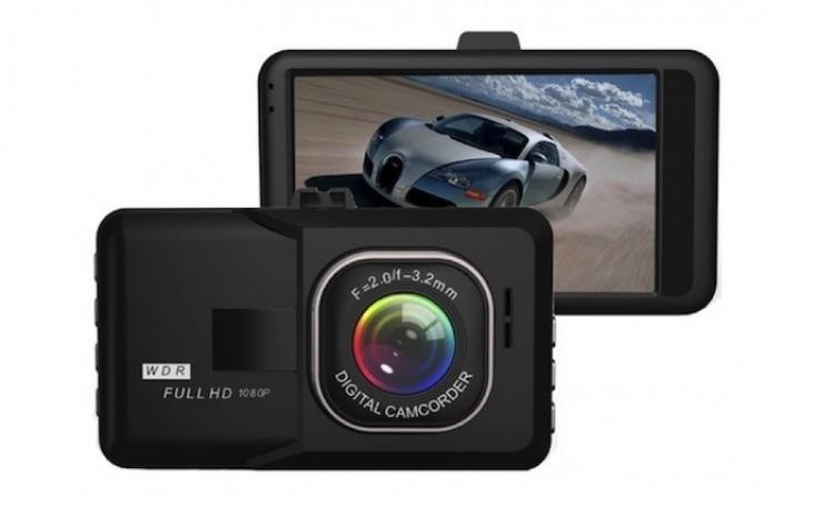 Camera Video Auto HD ecran mare 3 inch