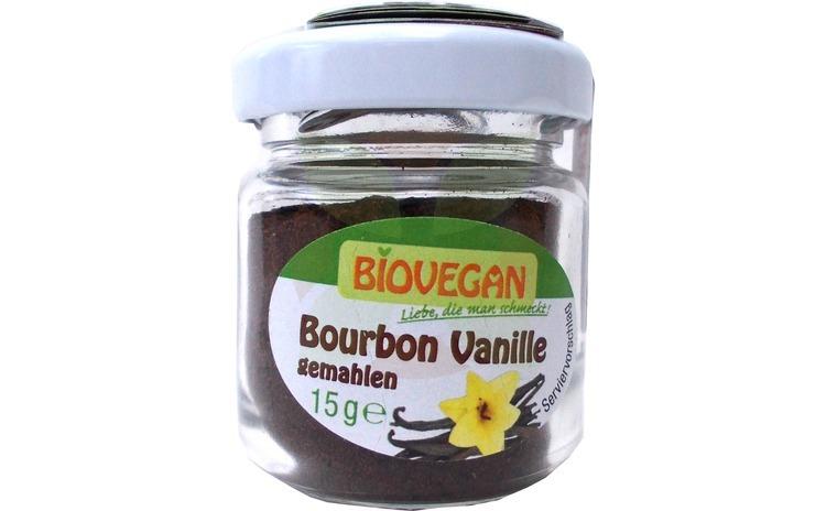 Vanilie Bourbon Bio macinata, 15 G