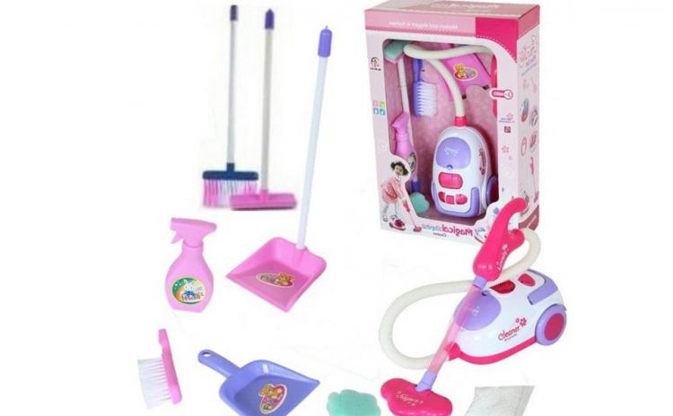 Imagine indisponibila pentru Set aspirator + 7 accesorii, sunete si lumini, materiale non-toxice si rezistente