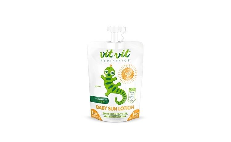 Lotiune protectie solara pentru copii