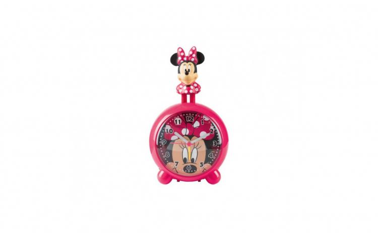 Ceas desteptator cu figurina 3D Minnie M