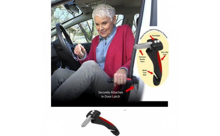 Maner auto ajutator cu 2 LED-uri