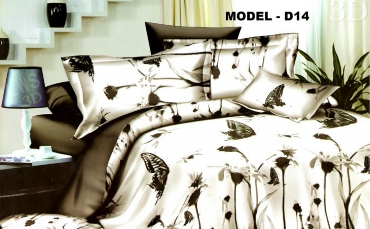 Nou! Cuvertura 3D de pat dublu - 99 RON!