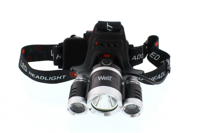 Lanterna frontala cu LED Well 350lm