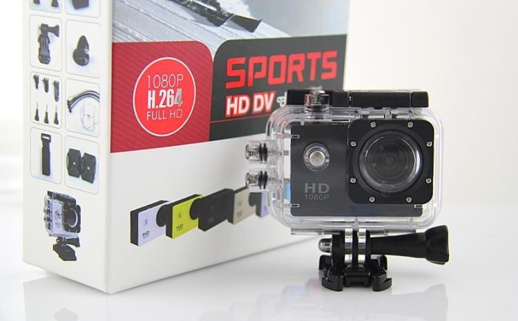 Camera Sport Sj4000 Fullhd 1080p Subacvatica 30m, La 349 Ron In Loc De 899 Ron