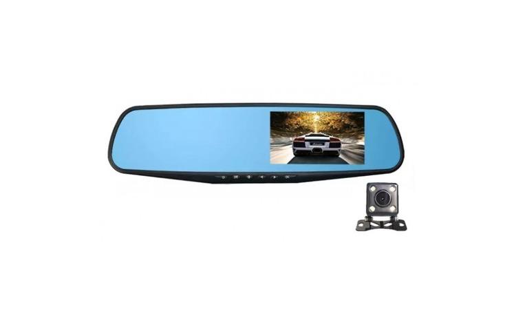 Camera Auto, Oglinda, Dual Lens,
