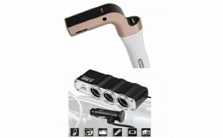 Modulator FM Bluetooth Carg G7 + Priza