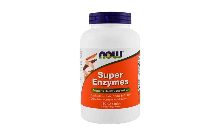 Super Enzymes  Now Foods  180 tablete