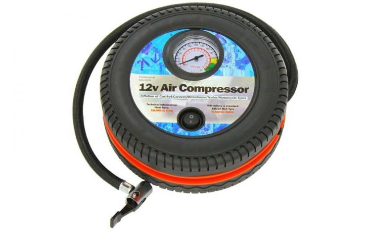 Compresor auto anvelopa