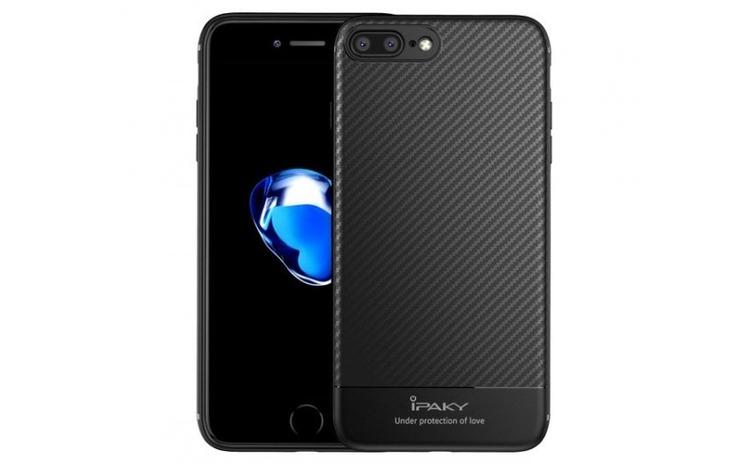 Husa iPaky Carbon Fiber iPhone 7 Plus
