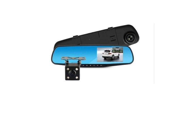 Camera video auto dubla tip oglinda