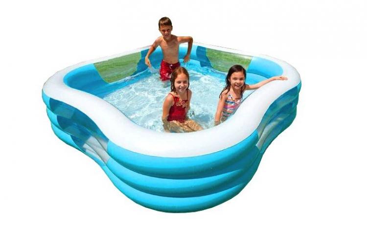 Piscina gonflabila dreptunghiulara pentru adulti si copii, la doar 329 RON in loc de 699 RON, garantie 12 luni