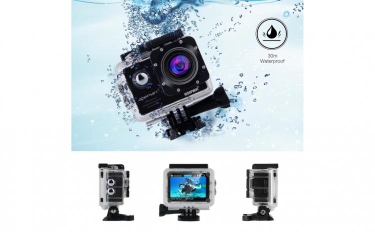 Camera video sport Ultra HD 4K 170 grade