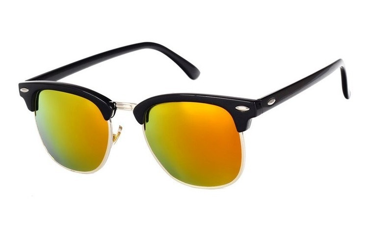 Ochelari de soare Retro Galben -