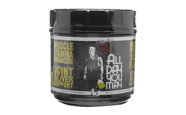 All day you may  Rich Piana Nutrition