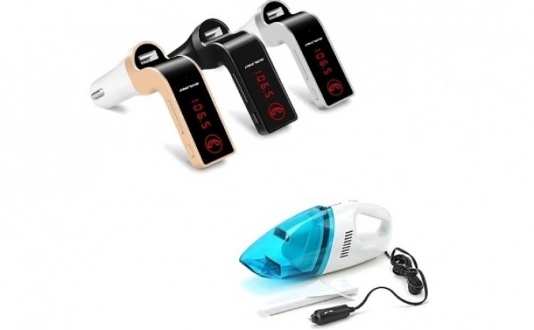 Modulator FM + aspirator auto