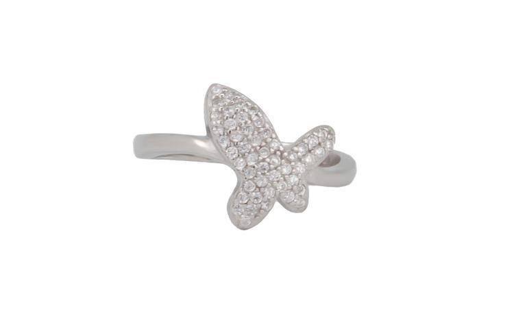 Inel dama argint 925 Butterfly wings