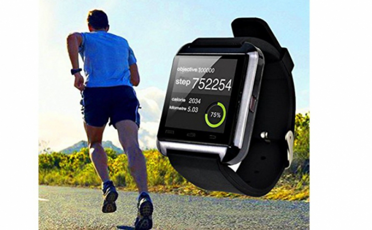 Ceas Bluetooth Smartwatch Compatibil Android Si Ios, La Doar 180 Ron In Loc De 700 Ron