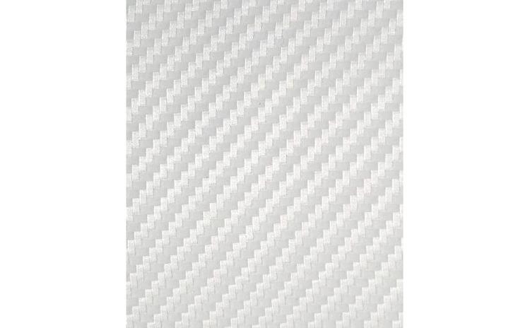 Rola folie carbon 3D alba latime 1.27m x