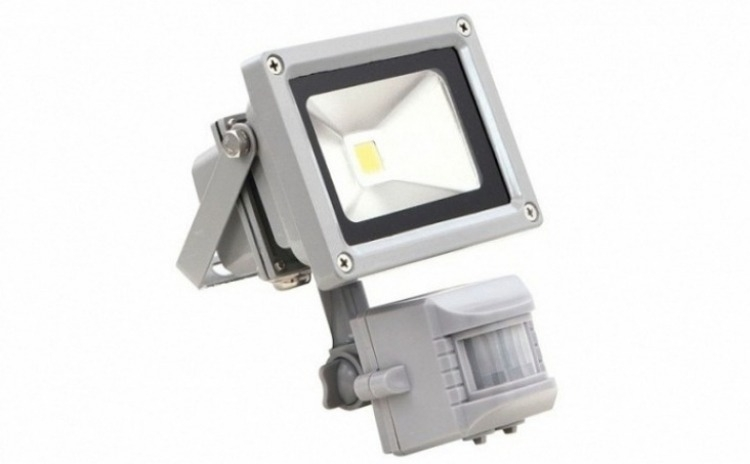 Proiector LED 20W - cu senzor