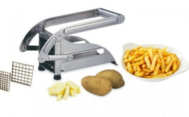 Dispozitiv de feliat cartofii - confectionat din inox