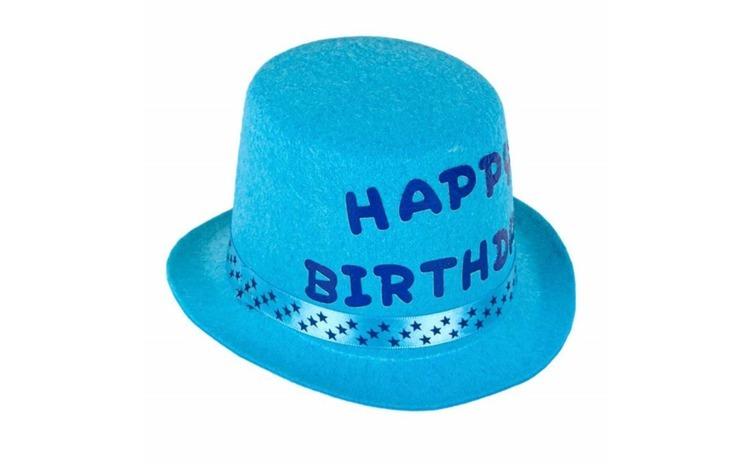 Palarie aniversara pentru baieti Happy