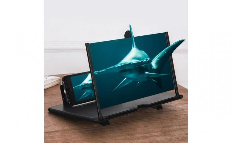 Ecran lupa cu efect 3D pentru telefoane