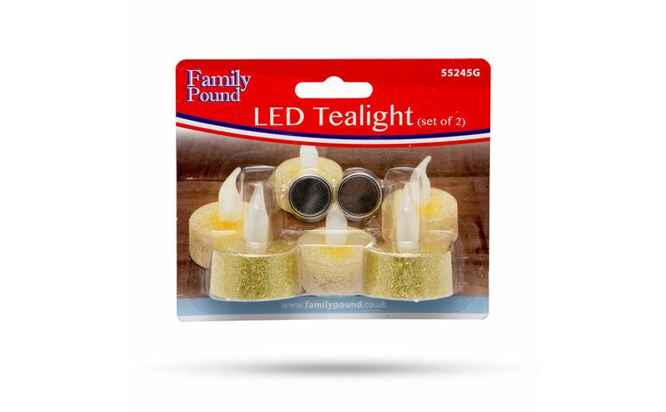Opaiţ cu LED cu baterie CADOU