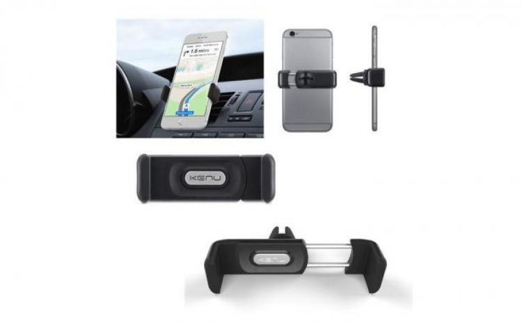 Suport auto atasabil la grila / ventilatie, pentru telefon, universal, reglabil, 360 grade, pentru Samsung, Iphone, Htc Allview, Sony, LG ect. C69