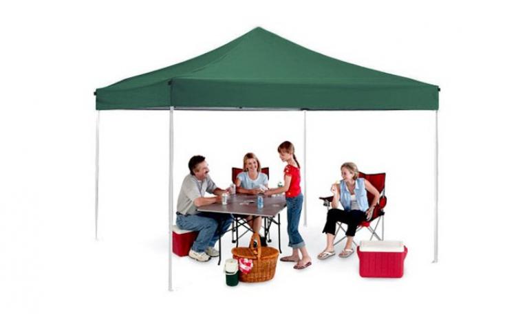 Cort Pavilion de 3 x 3 m, verde, albastru, rosu sau alb, la doar 349 RON in loc de 899 RON!