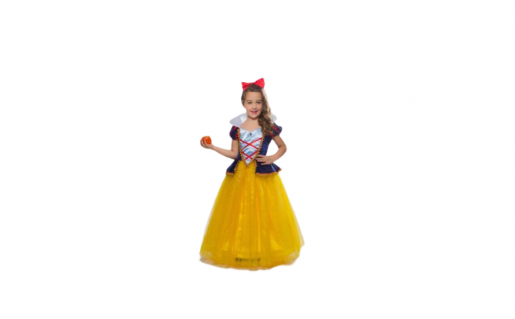 Rochie fetite Alba Ca Zapada 7-8 ani