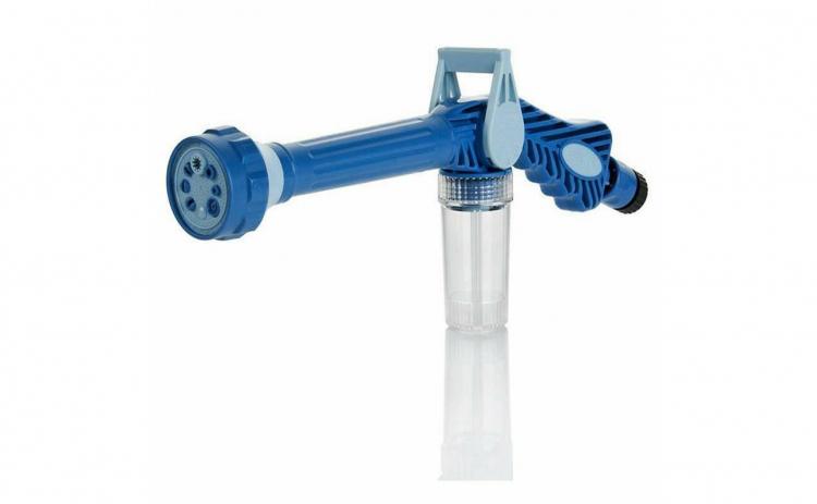 Pistol de stropit cu dispensor de sapun