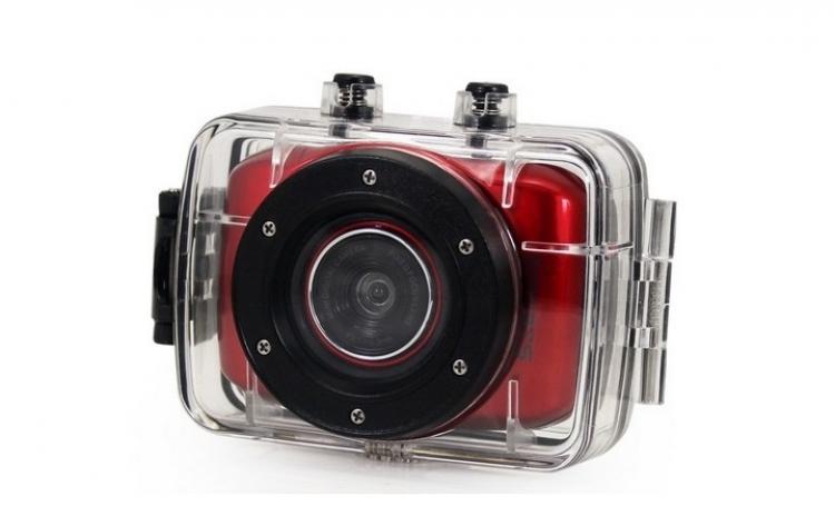 Camera video HDHD720P subacvatica, sport, cu memorie externa, la doar 249 RON in loc de 500 RON