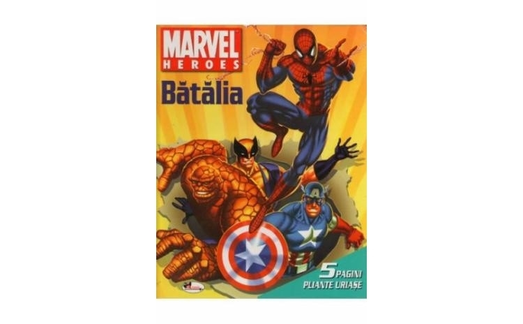 Eroii Marvel - Batalia, autor Marvel Heroes