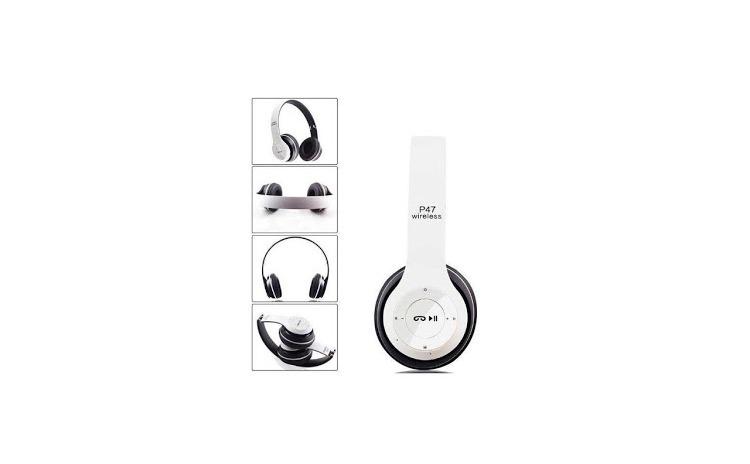 Casti P47 Wireless Bluetooth cu microfon