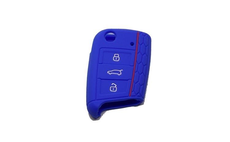 Husa cheie auto din silicon WV Golf 7/
