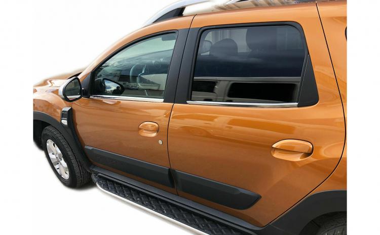 Ornamente geamuri crom Dacia Duster II