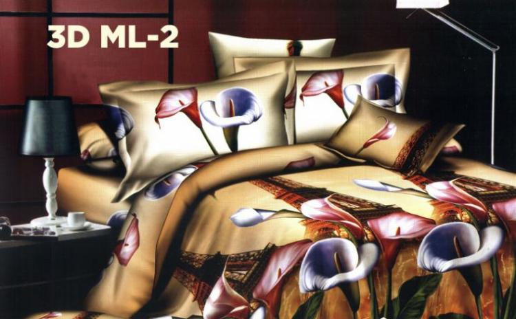Lenjerie Bumbac 3d Milano Collection Night&day Pentru Pat Dublu La Doar 119 Ron In Loc De 449 Ron
