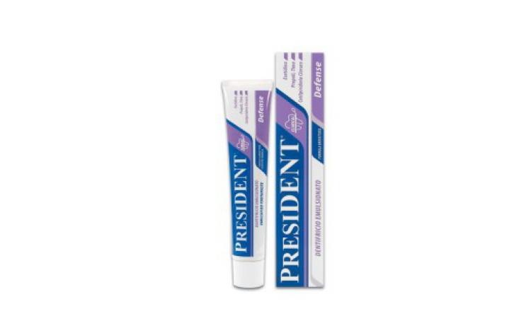 Imagine indisponibila pentru Pasta de dinti President Defense cu actiune indelungat a 75 ml, la doar 13.59 RON