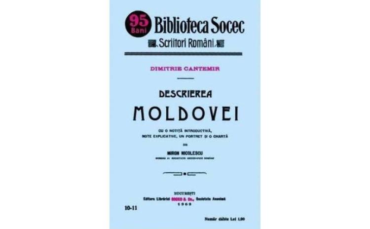 Descrierea Moldovei , autor Dimitrie