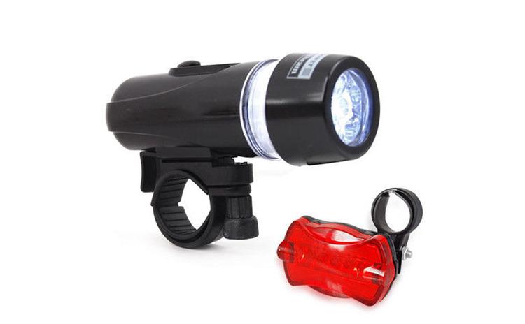 Set lanterna si stop pentru bicicleta