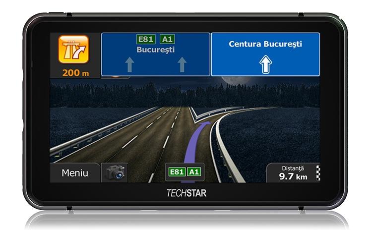 Gps Auto Techstar Navigatie 7